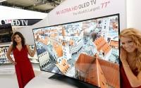 横扫液晶电视?LG 首款曲面 4K OLED 电视将开售